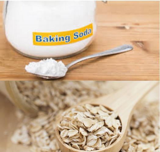 Tẩy tế bào chết toàn thân bằng yến mạch và baking soda dễ thực hiện