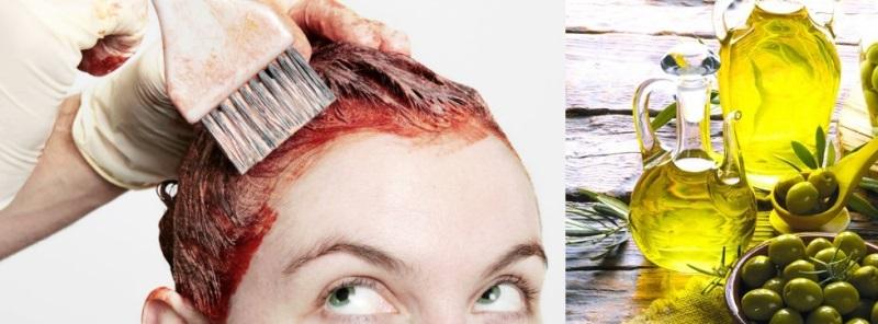 Dùng dầu oliu tẩy màu thuốc nhuộm dính trên da đầu vừa hiệu quả lại dưỡng tóc mềm mượt