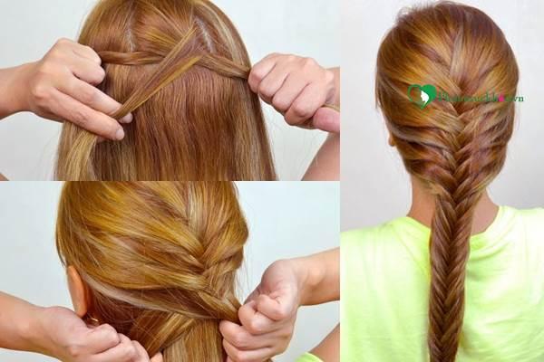 Hướng dẫn các kiểu tết tóc đẹp thịnh hành nhất nhất hiện nay - Ảnh 3