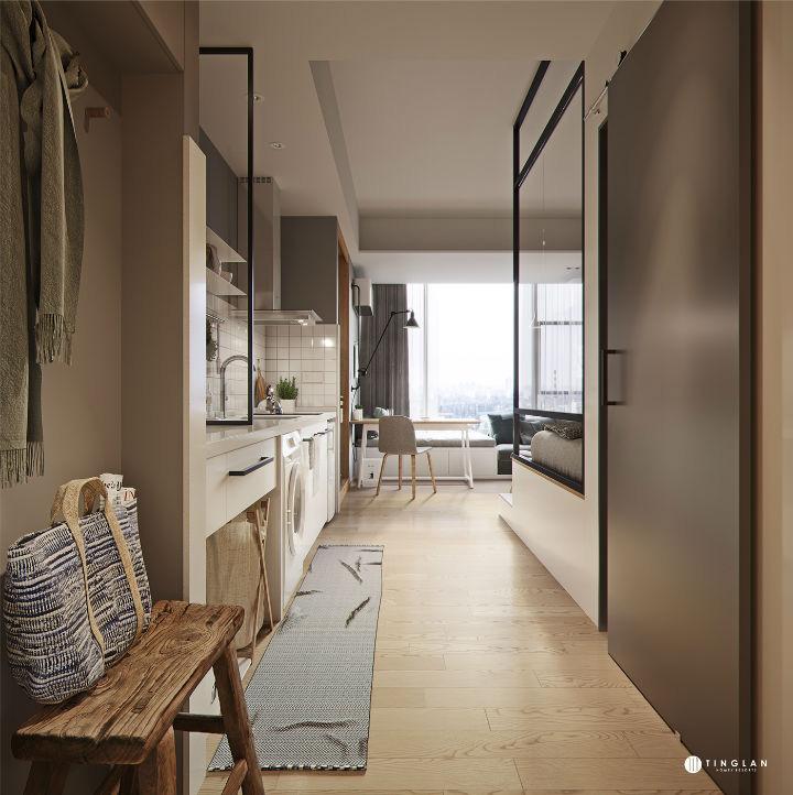 Ý tưởng thiết kế căn hộ kiểu studio 25m² nhỏ xinh, chất ngất ai nhìn cũng mê tít - Ảnh 2