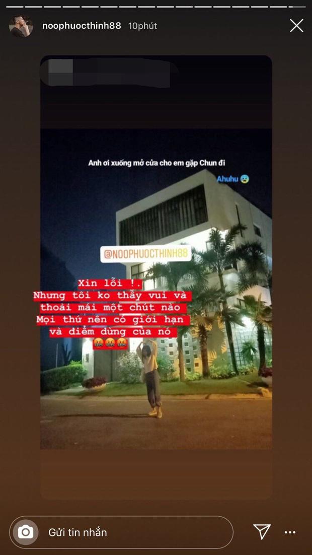 Noo Phước Thịnh bức xúc khi fan cuồng đến tận cửa nhà check in lúc nửa đêm - Ảnh 1