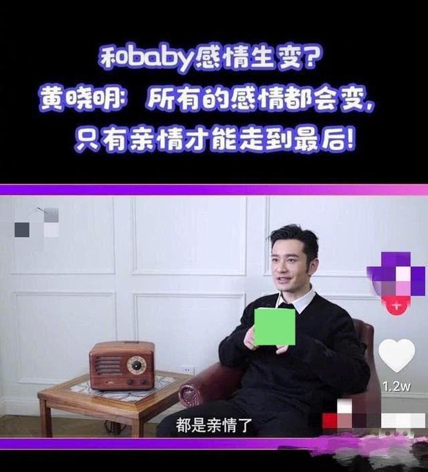 Thái độ cùng câu nói bất thường của Huỳnh Hiểu Minh dấy lên tin đồn trục trặc hôn nhân với Angelababy - Ảnh 2