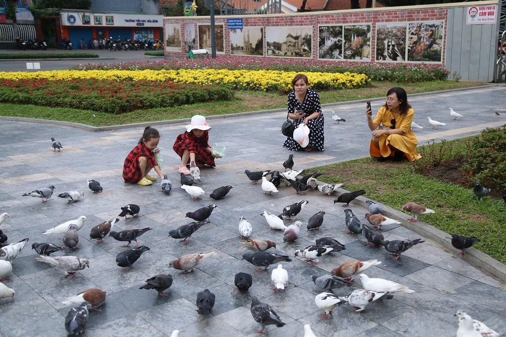 Đường phố Sài Gòn vắng xe, yên bình ngày đầu năm mới 2019 - Ảnh 10