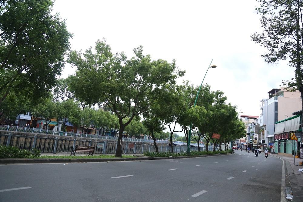 Đường phố Sài Gòn vắng xe, yên bình ngày đầu năm mới 2019 - Ảnh 3