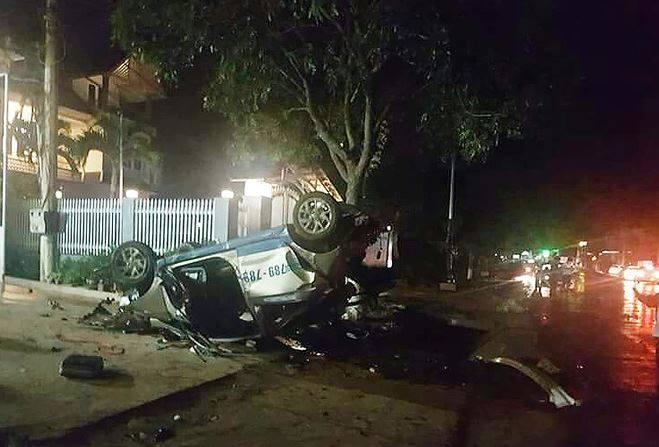 Tai nạn thảm khốc đêm đầu năm ở Lâm Đồng, 3 người chết, nhiều người bị thương - Ảnh 1