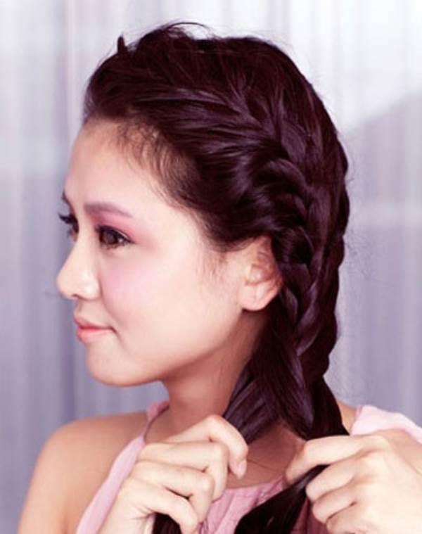 Các kiểu thắt tóc dễ thương thịnh hành vào mùa thu đông năm nay - Ảnh 3