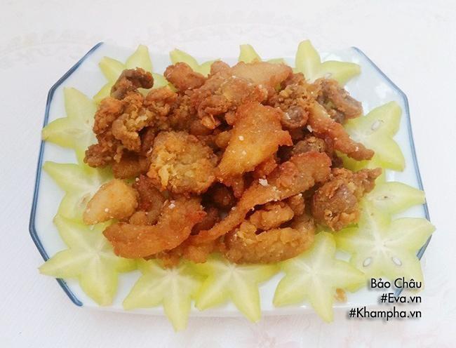 Thịt gà chiên giòn, trứng chưng giản dị mà ngon cho bữa cơm chiều - Ảnh 3