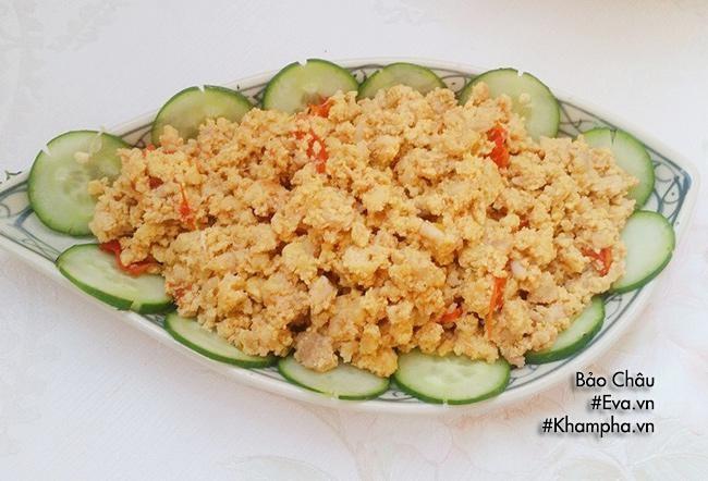 Thịt gà chiên giòn, trứng chưng giản dị mà ngon cho bữa cơm chiều - Ảnh 4