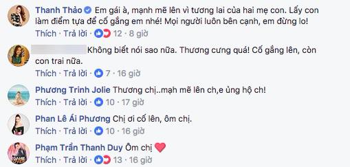 Hàng loạt sao Việt động viên khi Thu Thủy dính nghi án ly hôn chồng đại gia - Ảnh 4
