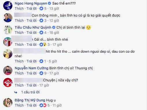 Hàng loạt sao Việt động viên khi Thu Thủy dính nghi án ly hôn chồng đại gia - Ảnh 5