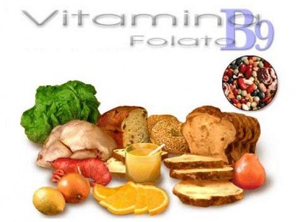 Vitamin B9, đóng vai trò quan trọng trong việc hình thành hệ thần kinh của thai nhi, bổ sung khoảng 400-600mcg/ngày.