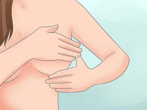 3 cách massage vòng 1 giúp