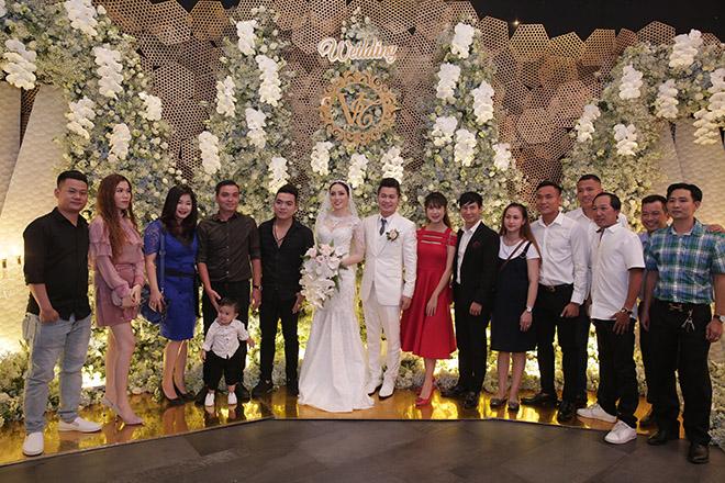 Dàn sao Việt dự lễ thành hôn của Lâm Vũ với vợ Việt Kiều - Ảnh 12
