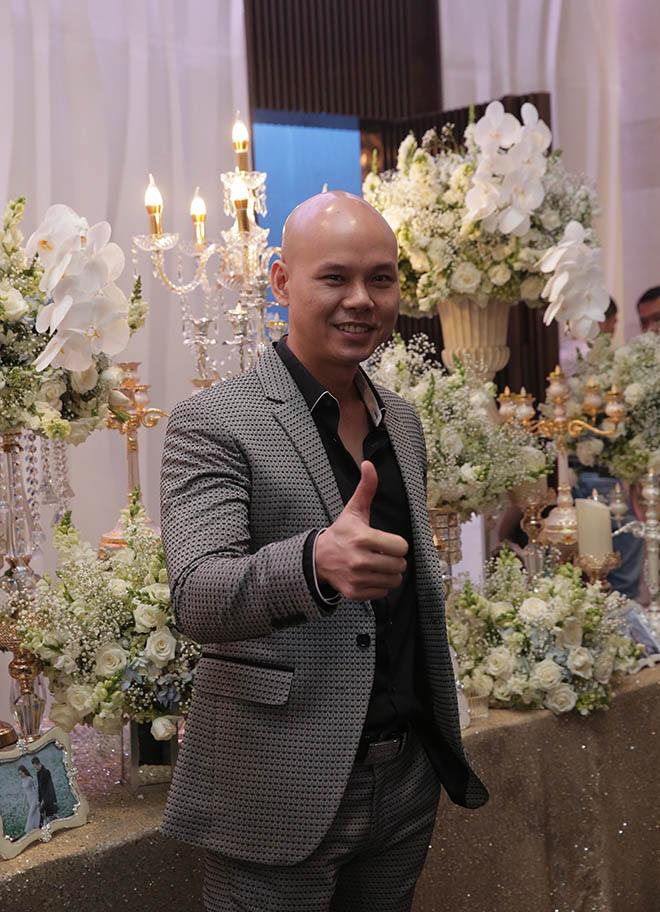 Dàn sao Việt dự lễ thành hôn của Lâm Vũ với vợ Việt Kiều - Ảnh 4
