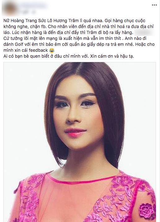 Người đẹp từng khiến Phạm Hương lu mờ  bị tố