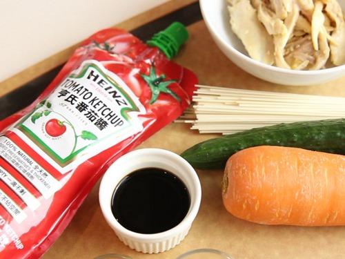 Bữa sáng hấp dẫn với mì trộn thịt gà, sốt cà chua - Ảnh 1
