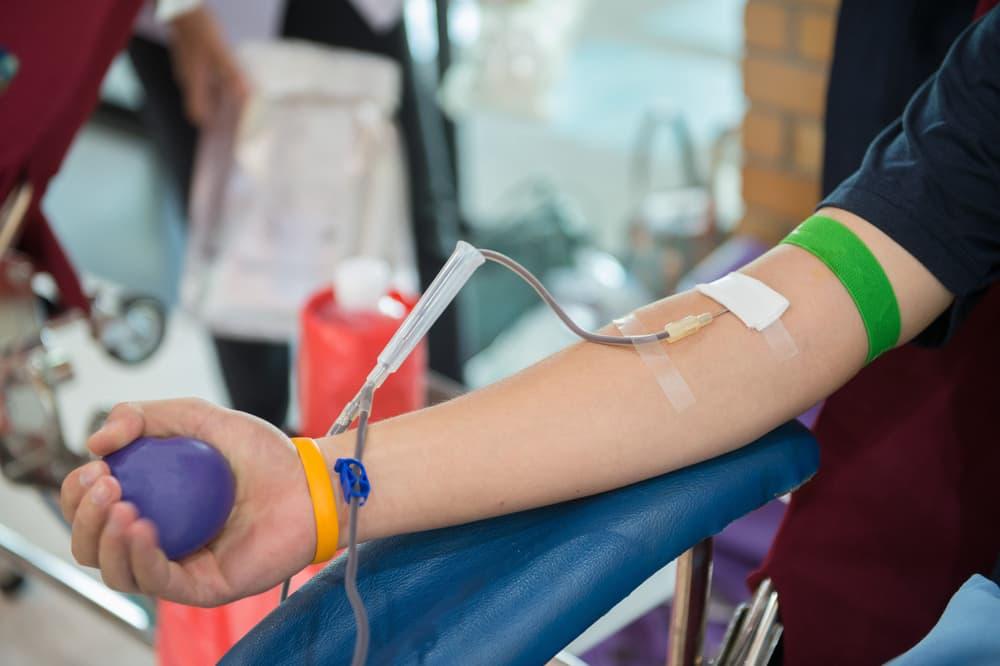 Hiến máu đem lại nhiều lợi ích cho cơ thể