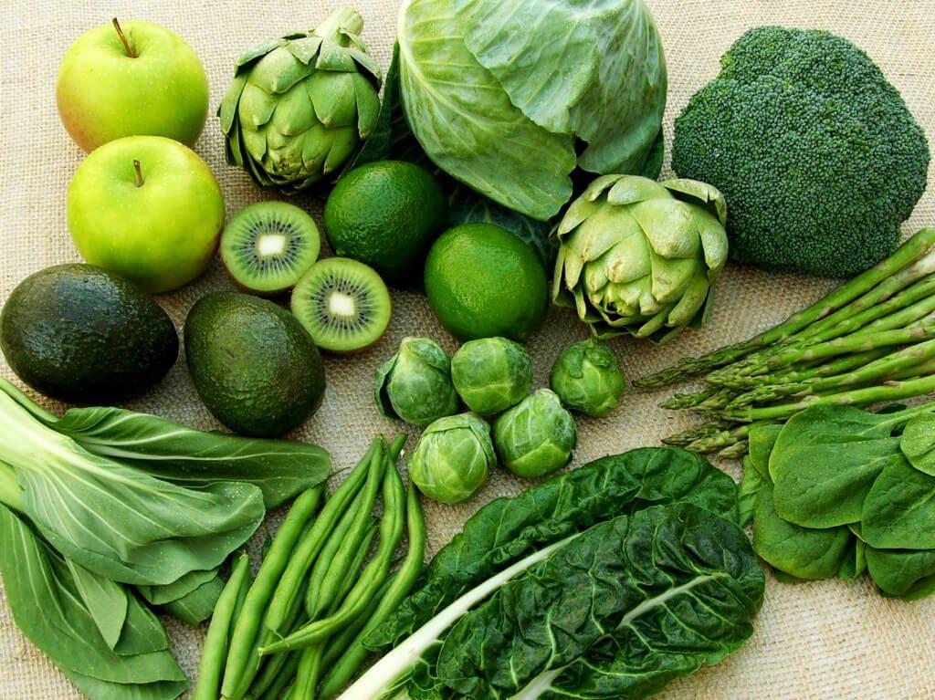 Rau màu xanh đậm là nguồn tổng hợp collagen cần thiết cho cơ thể