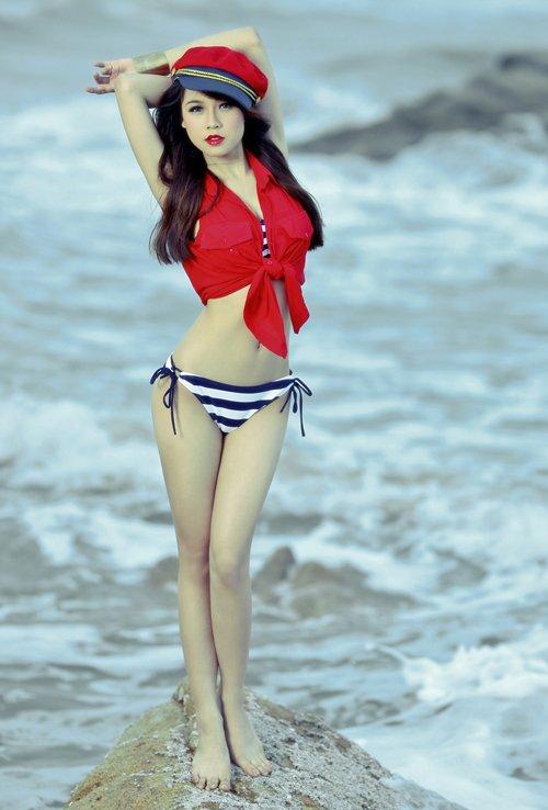 Hotgirl Sam khoe nét thanh xuân phơi phới - Ảnh 11