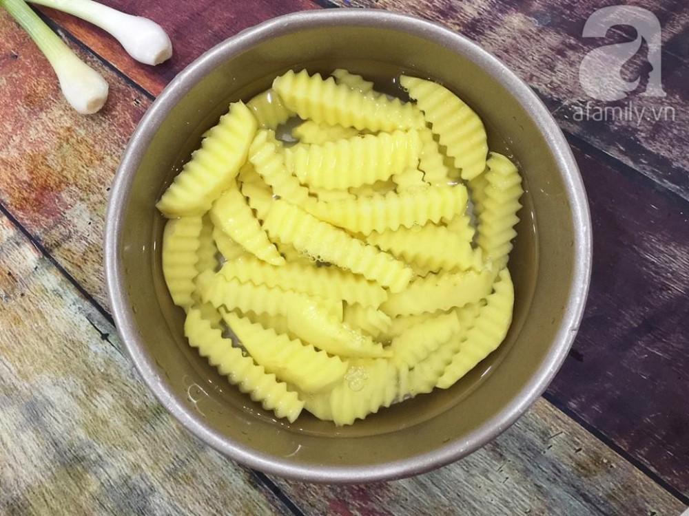 Thêm một biến tấu ngon lạ cho món khoai tây chiên quen thuộc - Ảnh 4