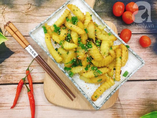Thêm một biến tấu ngon lạ cho món khoai tây chiên quen thuộc - Ảnh 7