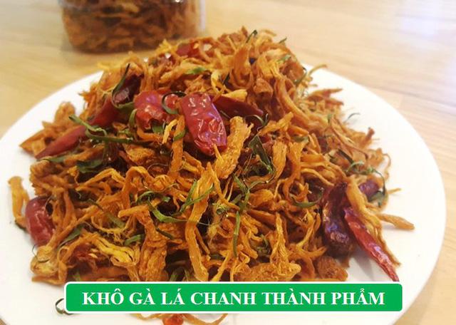 Thỏa sức nhâm nhi ngày Tết với món ăn vặt siêu hot 'Khô gà lá chanh' - Ảnh 4