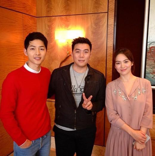 Xôn xao loạt ảnh chưa từng tiết lộ của Song Joong Ki và Song Hye Kyo khi còn hẹn hò - Ảnh 1