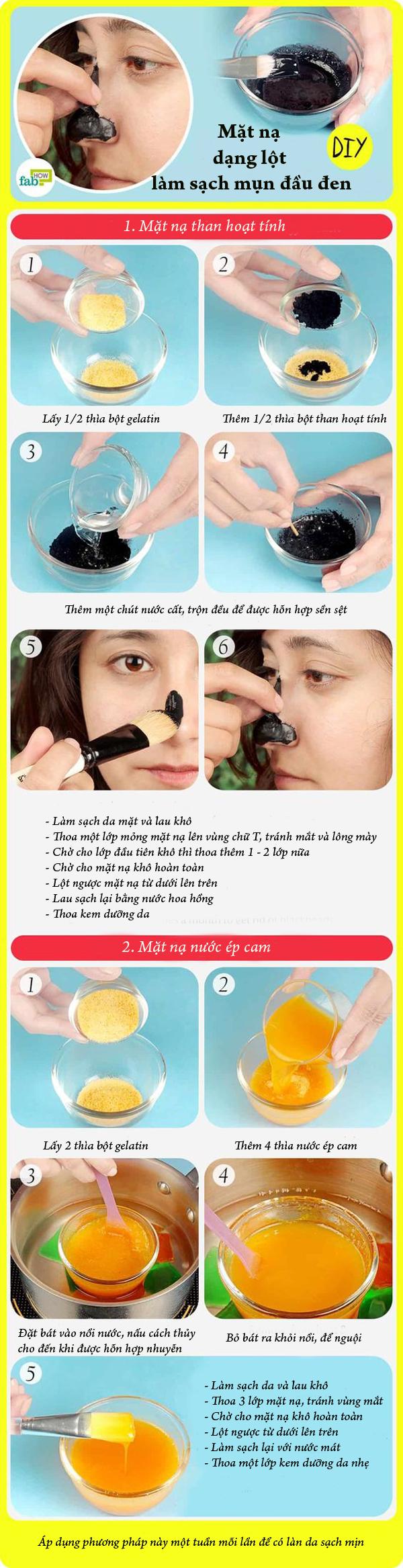 2 loại mặt nạ dạng lột giúp làm sạch mụn đầu đen - Ảnh 1