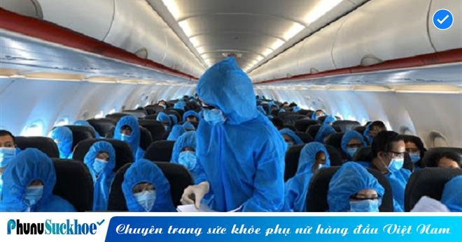 56 hành khách đi chuyến bay có Covid-19 xét nghiệm âm tính