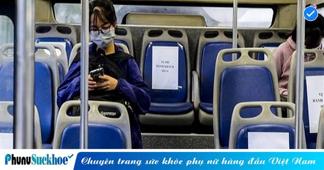 Bắt đầu từ 0h ngày 8/3, Hà Nội dừng giãn cách trên phương tiện vận tải công cộng