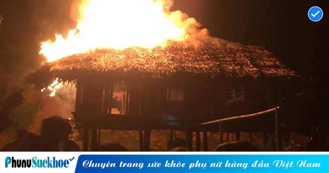 Xin tiền mẹ không cho, thanh niên 21 tuổi châm lửa đốt nhà cháy rụi