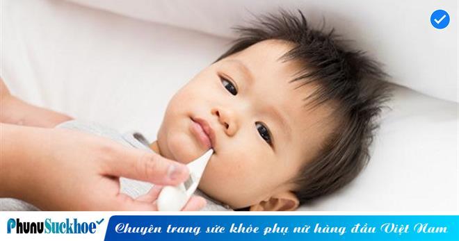 Cách đo nhiệt độ cho trẻ sơ sinh phổ biến nhất