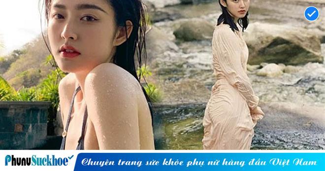 Cộng đồng mạng CHAO ĐẢO trước vẻ đẹp của 'nữ thần tắm suối', gây chú ý với GU thời trang NÓNG BỎNG