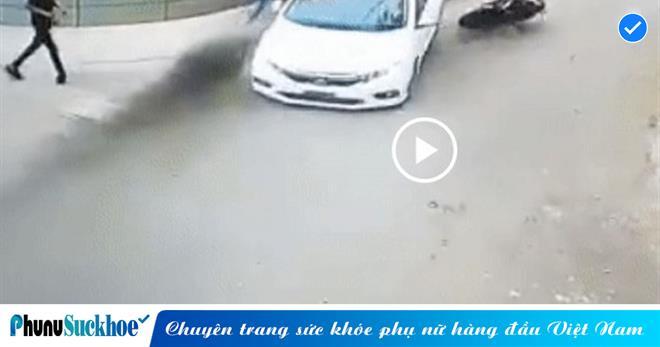 Người đàn ông may mắn THOÁT CHẾT trong gang tấc khi bị  tài xế ôtô ĐÂM ở tốc độ cao để TRẢ ĐŨA sau va chạm