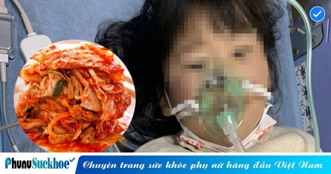 Bé 5 tuổi bị ngộ độc do ăn kim chi nhà làm, bác sĩ cảnh báo những thực phẩm không nên cho trẻ ăn