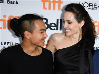 Angelina Jolie cố không khóc khi đưa Maddox đi nhập học ở Hàn