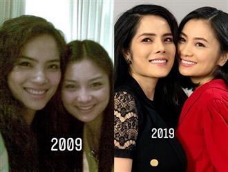 Ngưỡng mộ tình bạn 10 năm gắn bó của Diệu Hương và Kiều Thanh 'Phía trước là bầu trời'