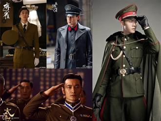 Những chàng quân nhân 'soái ca' hớp hồn chị em trên màn ảnh Hoa ngữ