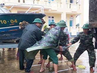 Bão số 8 sẽ gây mưa to tại các tỉnh từ Nghệ An đến Thừa Thiên Huế
