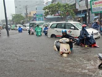 TPHCM hứng nhiều trận mưa lớn, thêm hàng chục tuyến đường ngập sâu