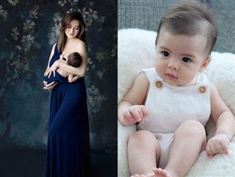 Mỹ nhân Marian Rivera lại 'đốn tim' fan với ảnh diện váy lệch vai quyến rũ bên con trai 4 tháng tuổi