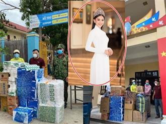 Gia đình đang ở vùng dịch, Hoa hậu Tiểu Vy viết tâm thư xúc động và góp số tiền lớn chống Covid-19