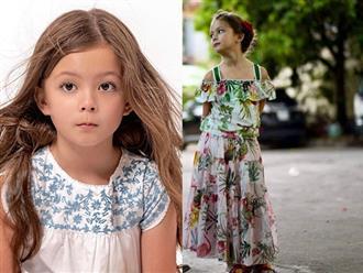 Mới 7 tuổi, con gái Hồng Nhung gây sốt với nét đẹp lai Tây, sao Việt thốt lên 'xinh ngất luôn'
