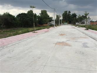 Đất vùng ven TP.HCM quy hoạch công trình công cộng bị phân lô bán nền bừa bãi