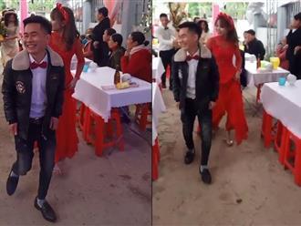 Xôn xao hình ảnh chú rể 15 tuổi lấy vợ ở Hà Tĩnh, khi biết sự thật ai cũng... ngã ngửa