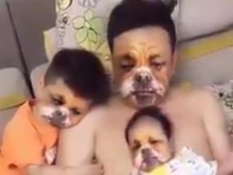 Clip hài hước:Ông bố và các con chịu trận với người mẹ 'trẻ trâu'