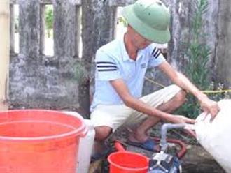 Gần 1.000 hộ dân ở Hà Tĩnh thiếu nước sạch trong mùa hè