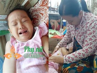 Người mẹ đi xin ăn cứu lấy con gái 19 tháng tuổi lâm bệnh nặng