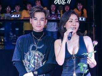 Thu Minh dù bị cấm túc vẫn cố gắng tham dự ra mắt ca khúc mới của Ali Hoàng Dương