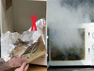 7 món đồ vật tuyệt đối không được đưa vào lò vi sóng, nếu không sẽ khiến nhà bếp nổ tung